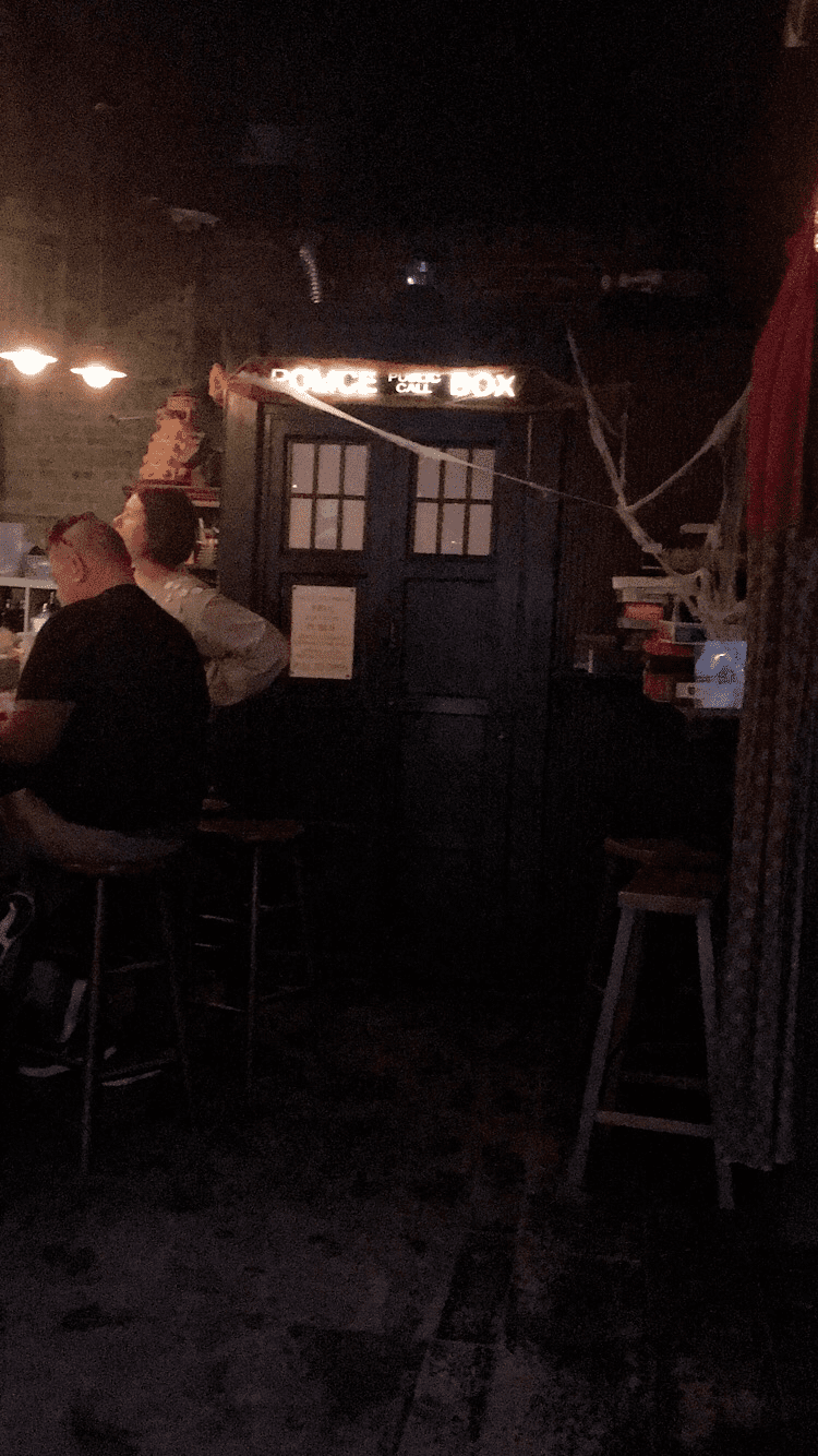 Fun Themed Bars in NYC: The Cost of Atmosphere - TARDIS in The Way Station