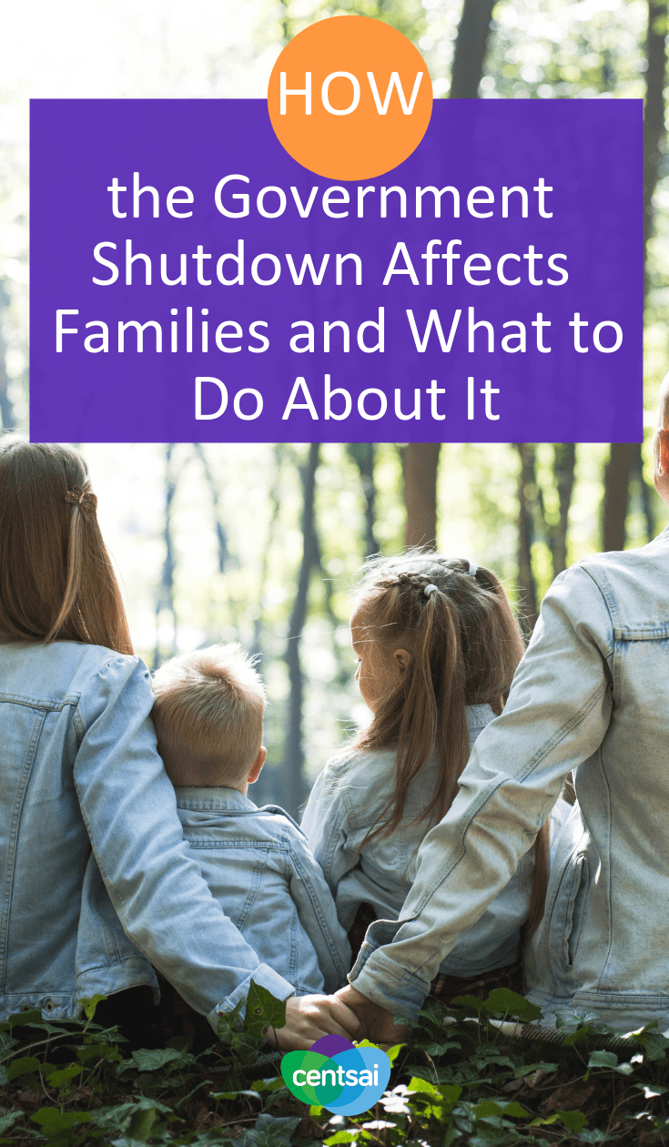 How the Government Shutdown Affects Families and What to Do About It. The government shutdown is hitting many families hard, and the situation could get worse. Learn what you can do to soften the blow. #financialhardship
