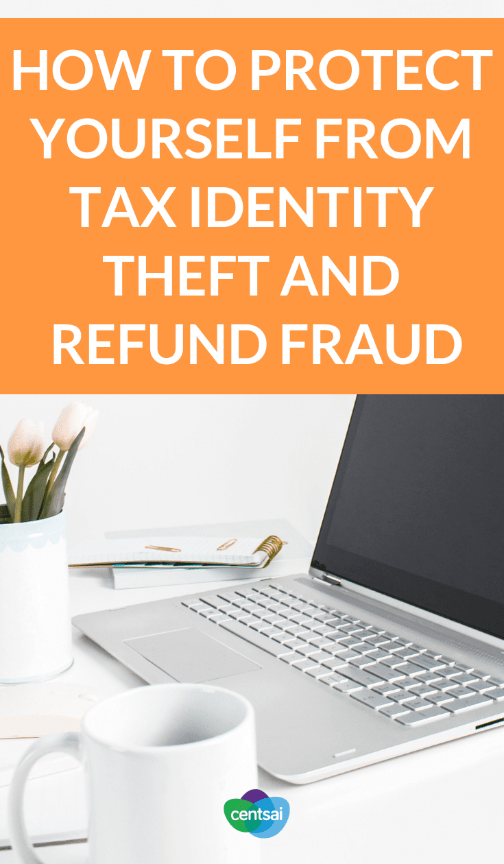 How to Protect Yourself From Tax Identity Theft and Refund Fraud. Are you ready to protect yourself against tax identity theft and refund fraud? Learn how to prevent it and what to do if it happens to you. #taxesblog #tax #taxidentity