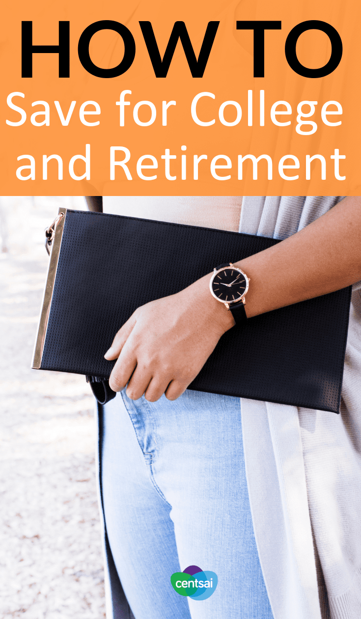 How to Set Your Priorities Saving for College and Retirement. So you want your kid to get a good education, but you also want to retire someday. Learn how to prioritize saving for college and retirement. #retirement #savingforcollege #priorities #college