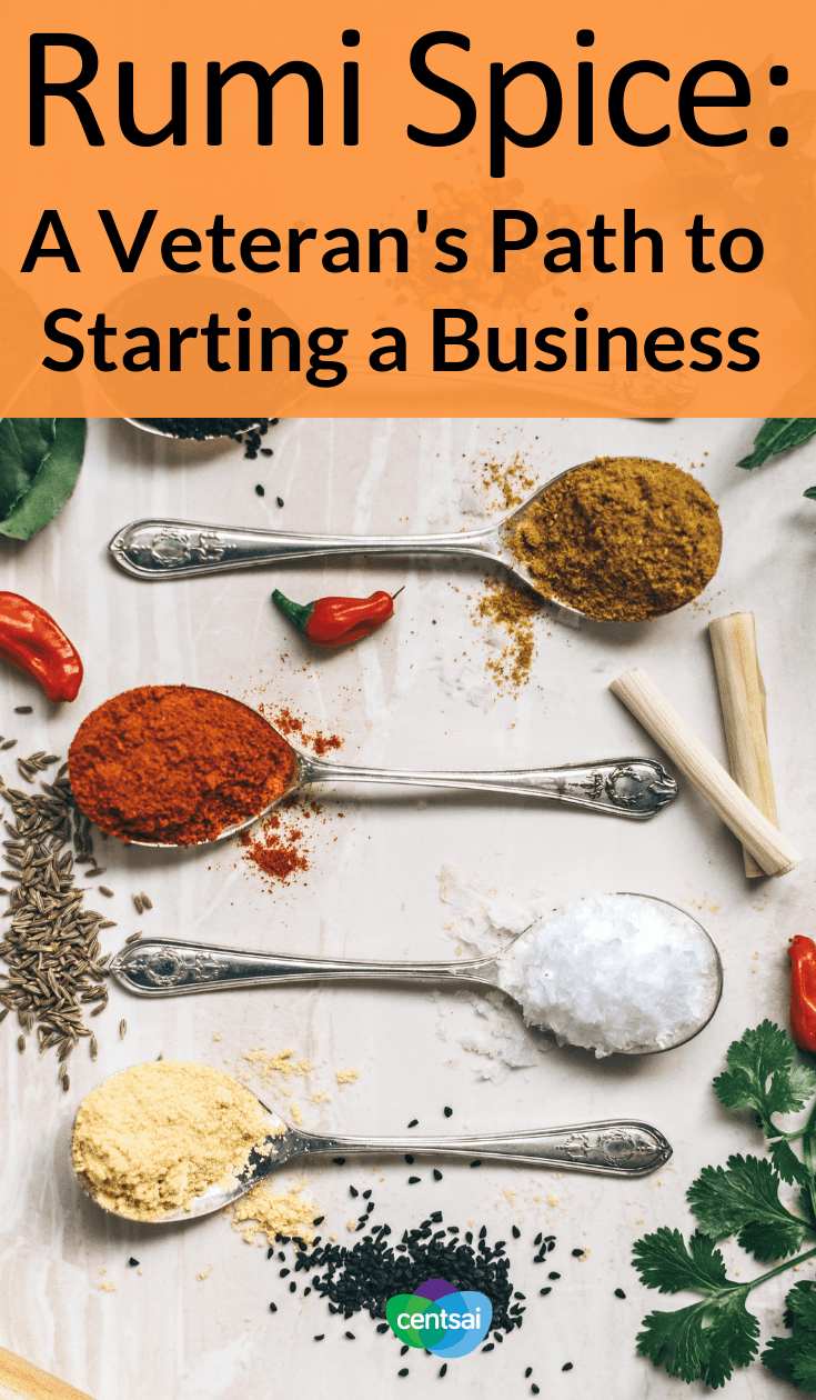 Rumi Spice: A Veteran's Path to Starting a Business. Kimberly Jung was quick to find new adventures after her military service. Don't miss out on her story of how she started her saffron business, Rumi Spice. #Entrepreneurshipblog #entrepreneurship