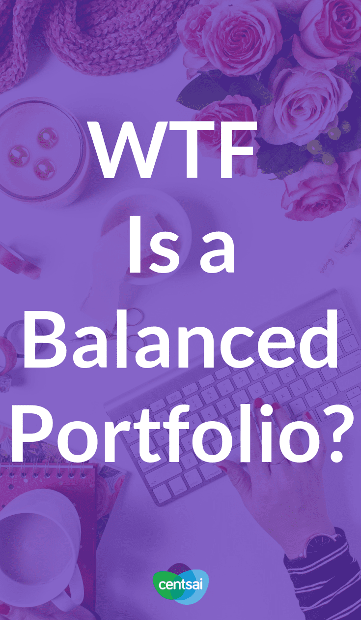WTF Is a Balanced Portfolio? Do you want to go broke when you retire? We thought not. Make sure to save, invest, and have a balanced portfolio. Here's how. #retirement #moneymanagement #investment