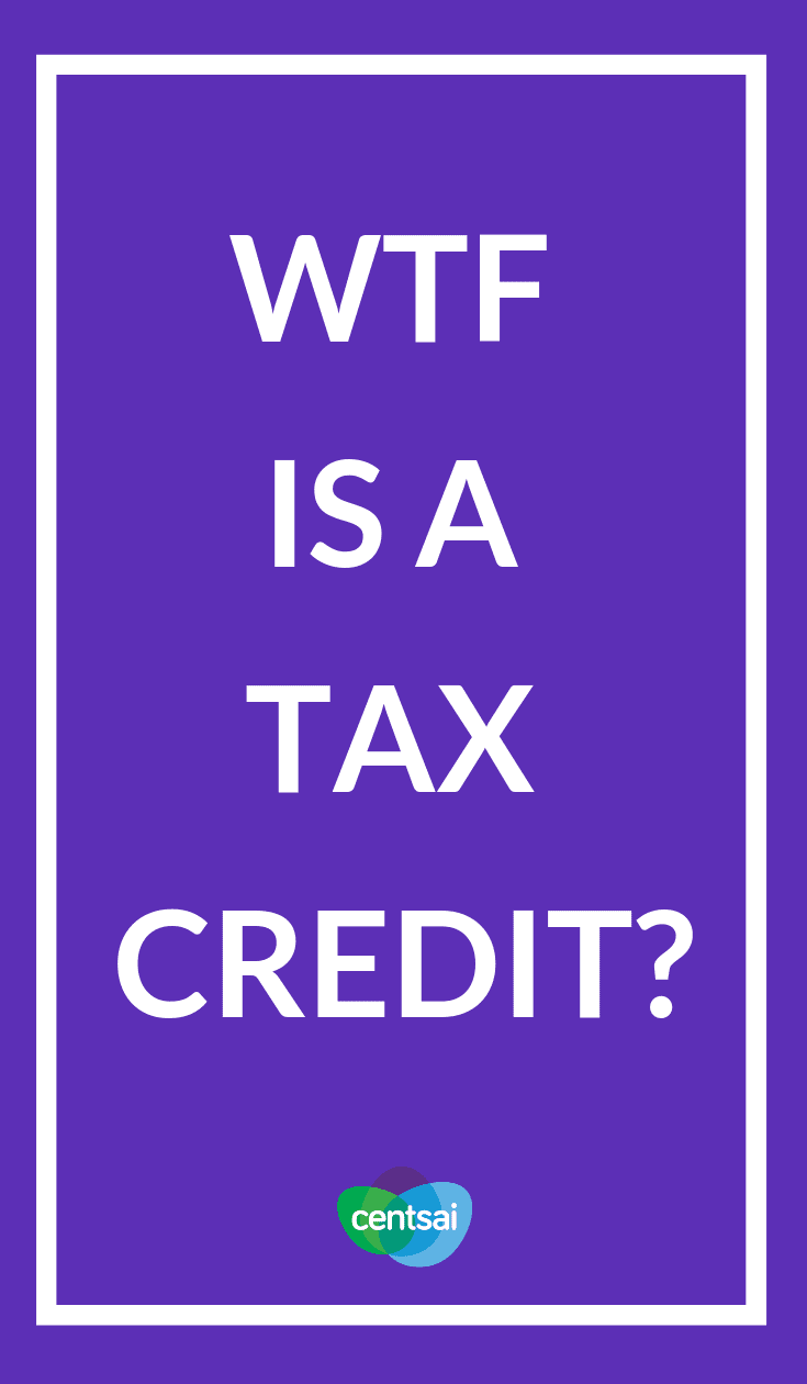You've heard the term, but what is a tax credit, exactly? Check out our handy guide to how tax credits work and how they help you save money. #taxcredits #taxestips #taxes #tax