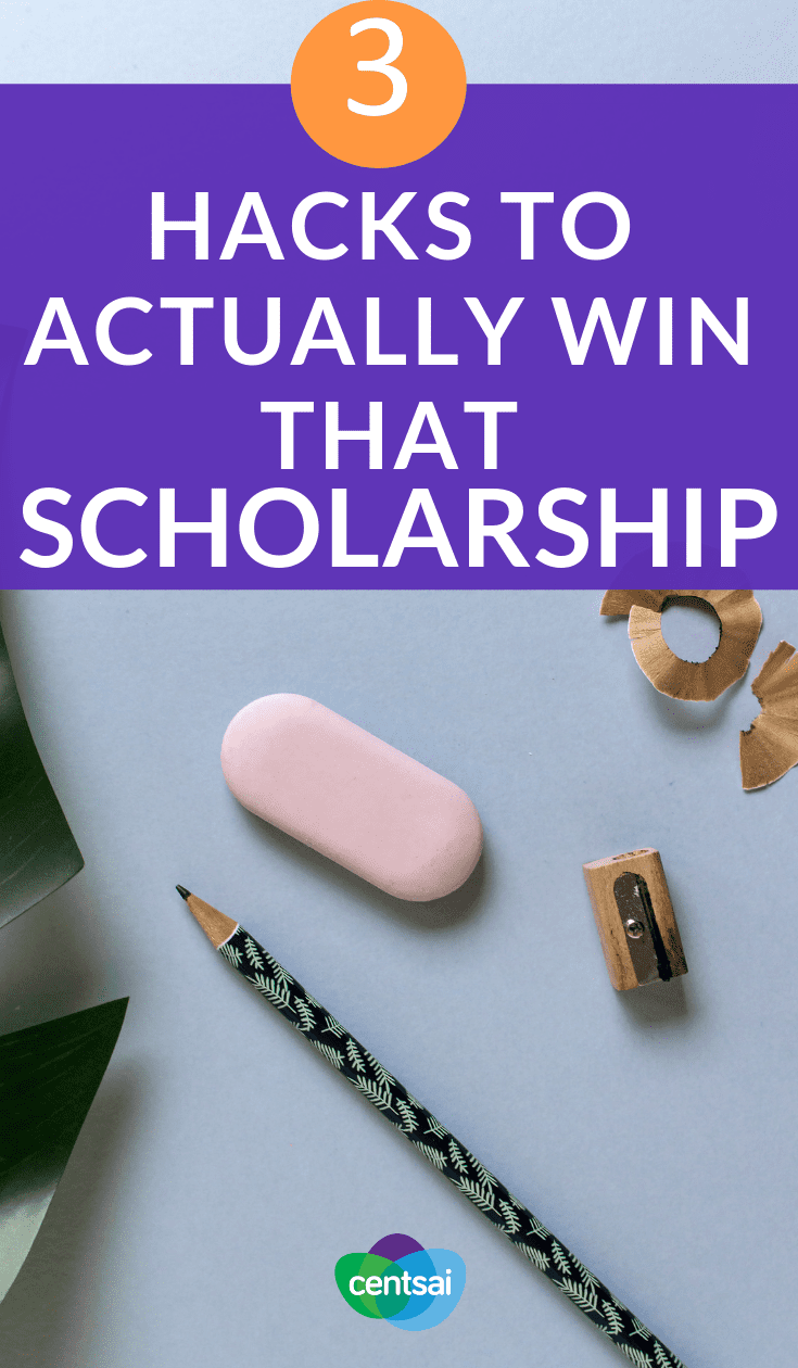 3 Hacks to Actually Win That Scholarship. You don't need to be rich to afford college. Learn how to win scholarships and get other people to foot the bill — at least partially. #scholarship #scholarships #college #collegehacks