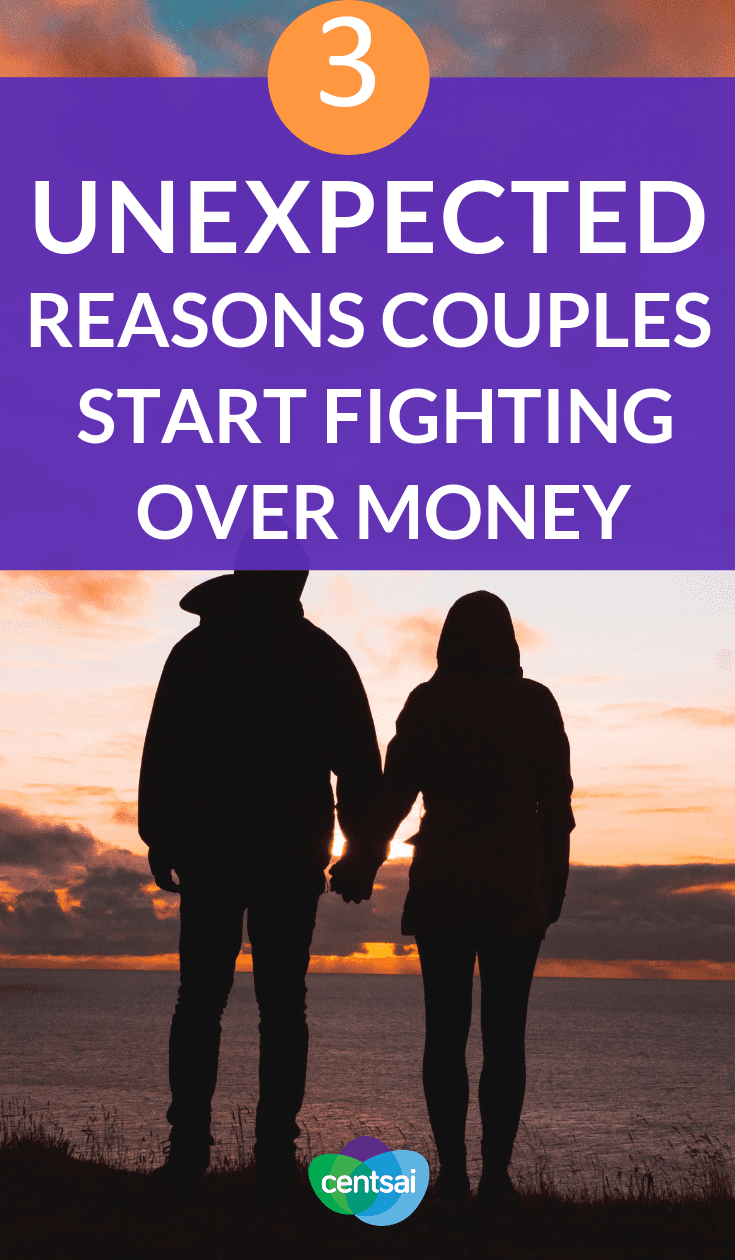 3 Unexpected Reasons Couples Start Fighting Over Money. Couples often find themselves fighting over money, but are finances the real problem? Learn what experts think the real causes may be. #marriage #relationships #moneyproblems