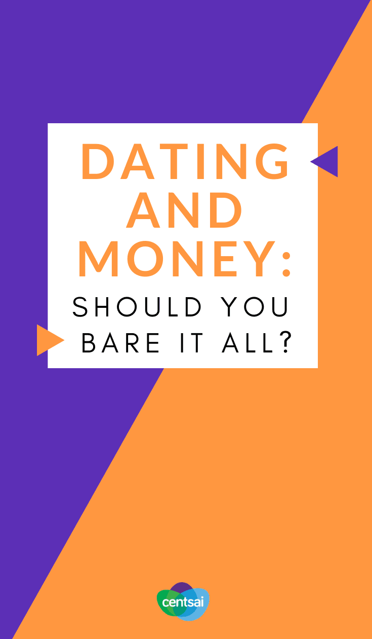 Dating and Money: Should You Bare It All? Dating and money can be an awkward topic, but don't avoid it. Learn why you should start talking about money early on in a #relationship. #money #dating #aboutmoney