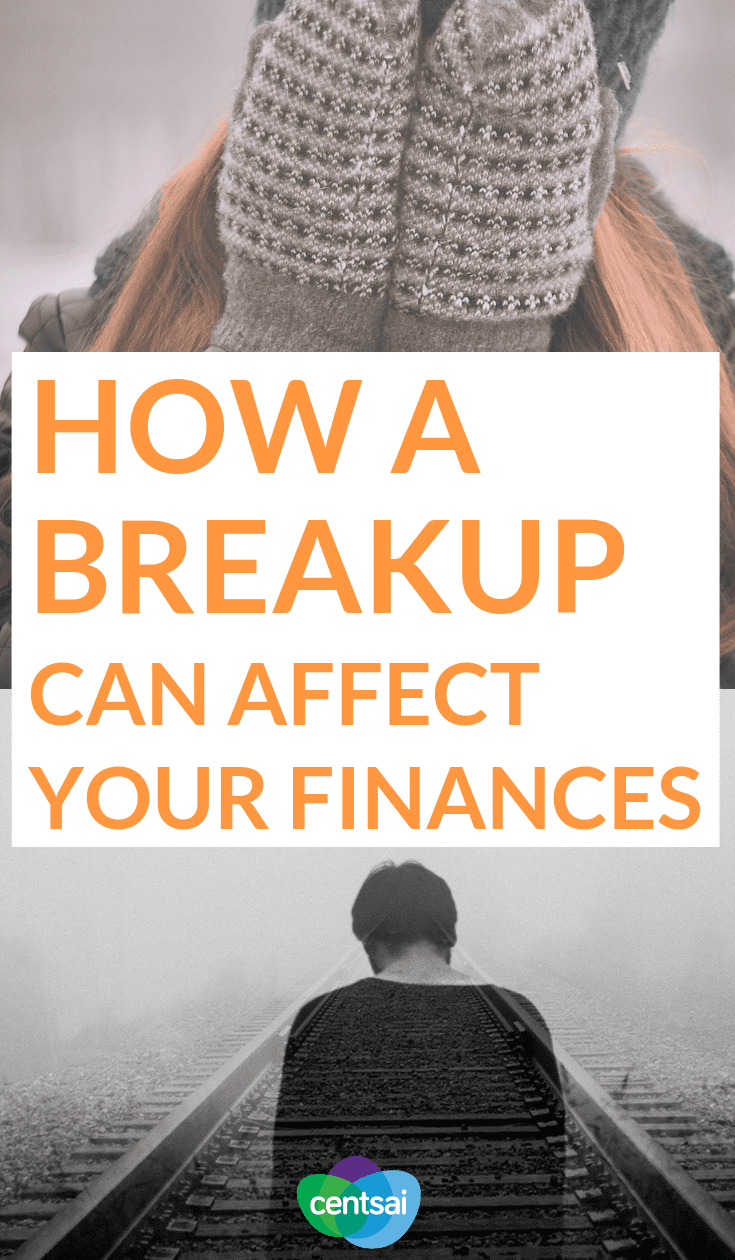 How a Breakup Can Affect Your Finances. The side effects of a breakup can be emotionally devastating, but what about the financial cost of lost love? You'd be surprised. #breakup #finances #moneymanagement