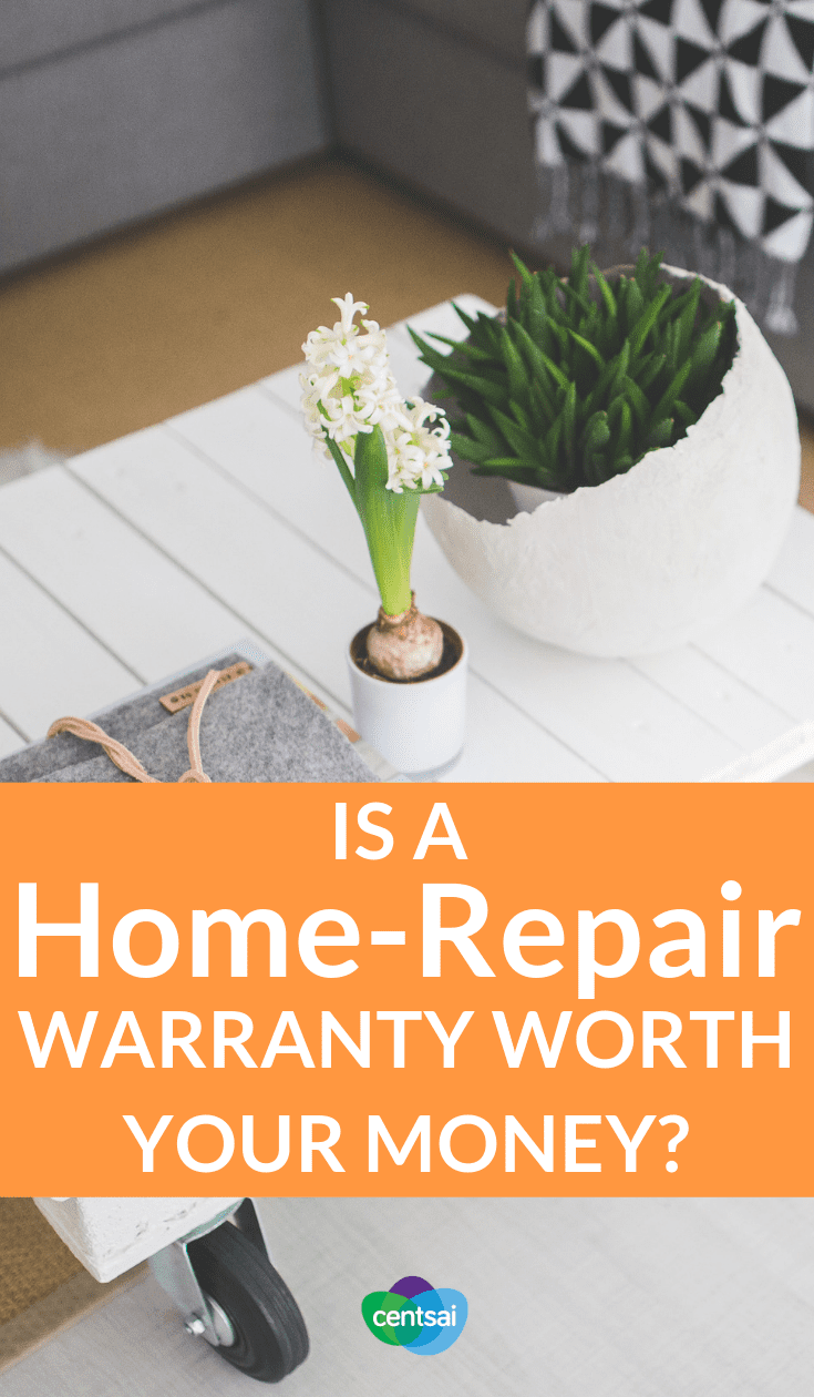 Is a Home-Repair Warranty Worth Your Money? Is it a good idea to buy a home-repair warranty? Check out the pros and cons to figure out if it's the right choice for you. #homerepair #money