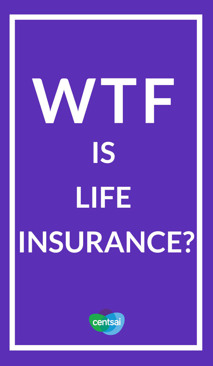 WTF Is Life Insurance? How does life insurance work? What plan is best for your needs? Learn everything you need to know to cover your and your family's butts! #lifeinsurance #insurance #personalfinance #moneymanagement