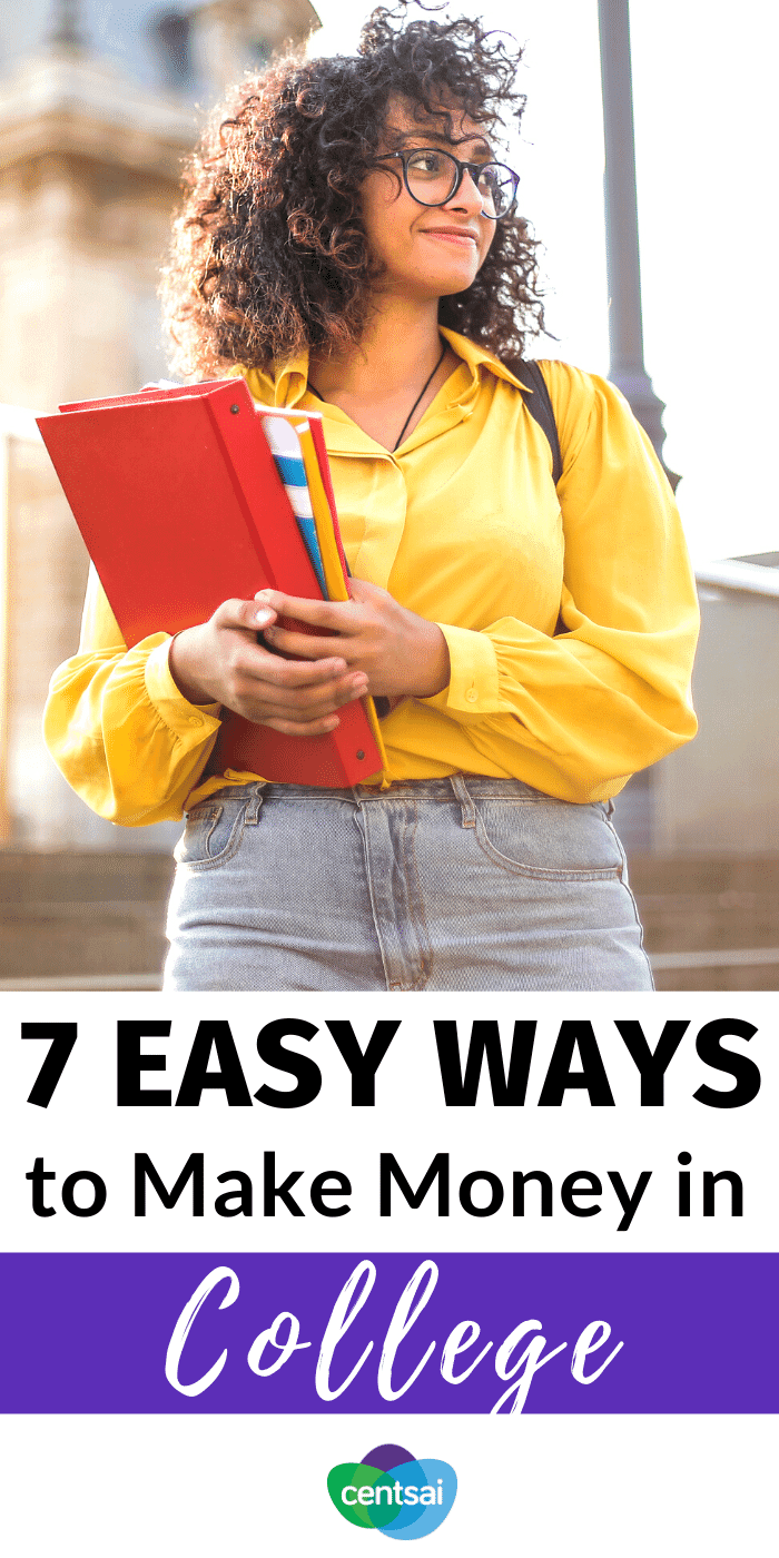 7 Easy Ways to Make Money in College