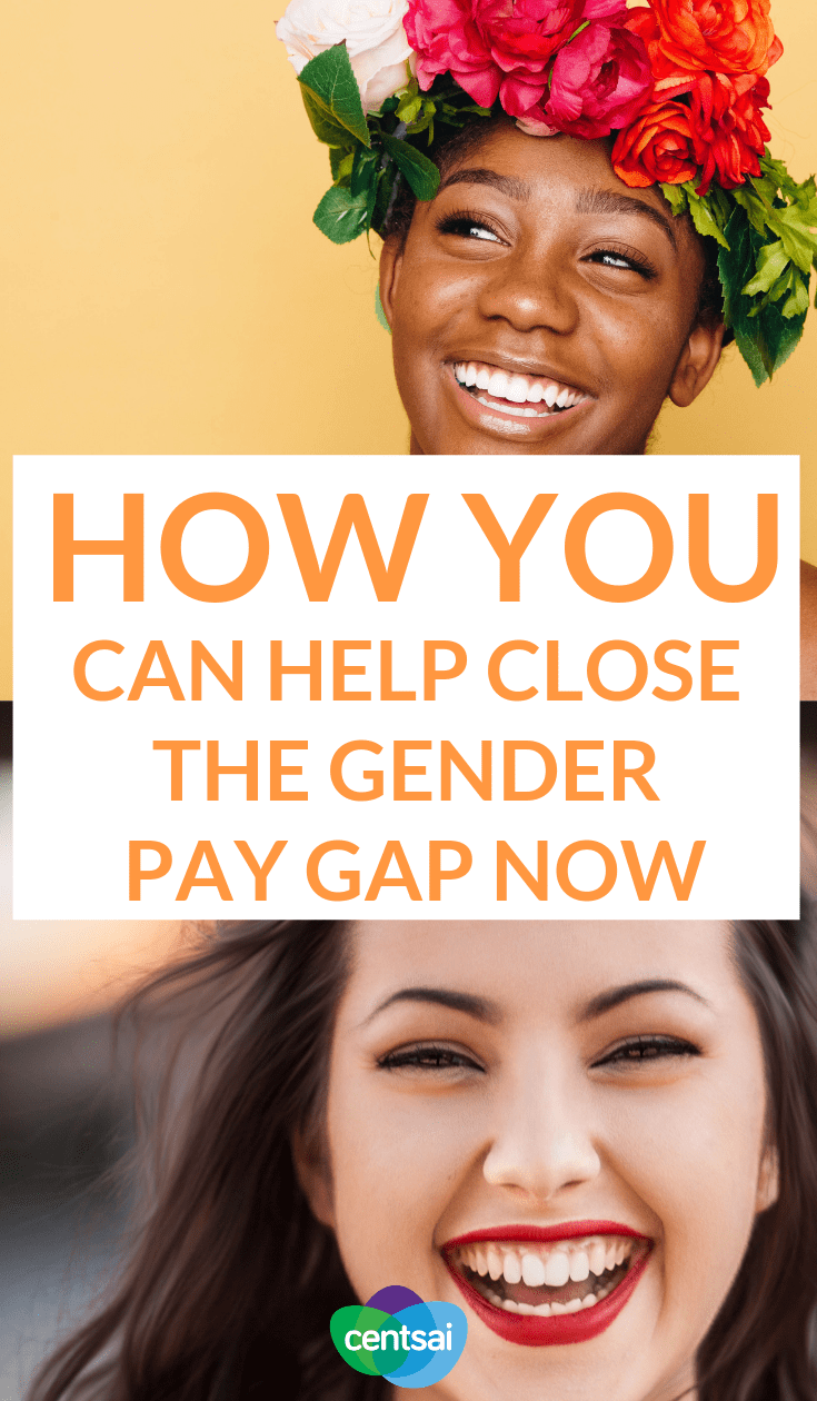 How You Can Help Close the Gender Pay Gap Now. Pay differences still affect many women. Don't wait for legislation to catch up with the times. Learn how to close the #genderwagegap today. #GenderWage #GenderWageGapMyth #GenderGap #Gendergapmenandwomen