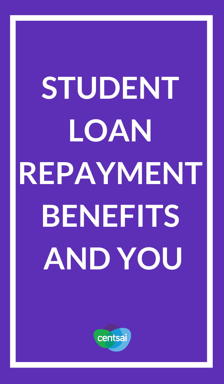 Student Loan Repayment Benefits And You. Did you know that some employers offer a student loan repayment benefit? Learn what it is, how it works, and whether it's right for you.  #careerblogs #payingoffdebt #studentloans #studentloandebt