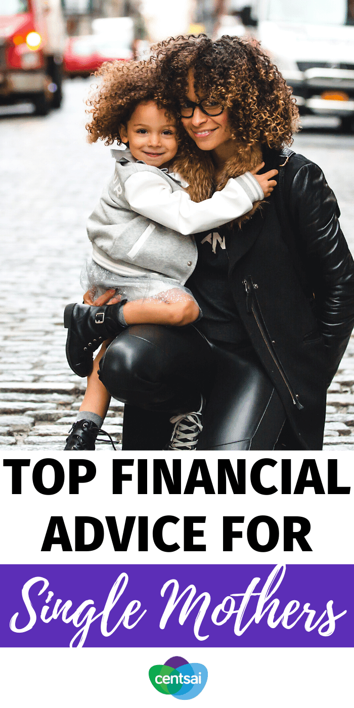 Being a single mom can be tough. You often need help to stretch money as far as possible. Check out these financial tips for single mothers. #CentSai #singlemothers #mothersday #mothersdayidea #women #parenting