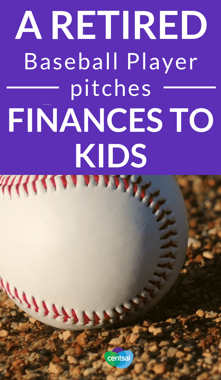 A Retired Baseball Player Pitches Finances to Kids. Teaching kids about money is anything but easy. Thankfully, motivational speaker and former baseball player Dennis Powell has great tips. #savingtips #savingmoneytips #savingmoney #savingsplan