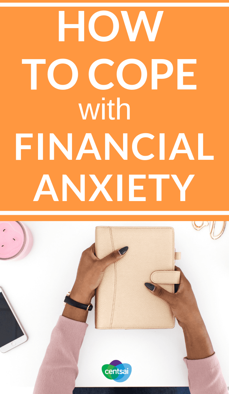 How to Cope With #FinancialAnxiety Is financial anxiety a struggle for you? You're not alone. Check out what one woman learned about how to not stress about money. #financialliteracy #financialplanning #financialindependence