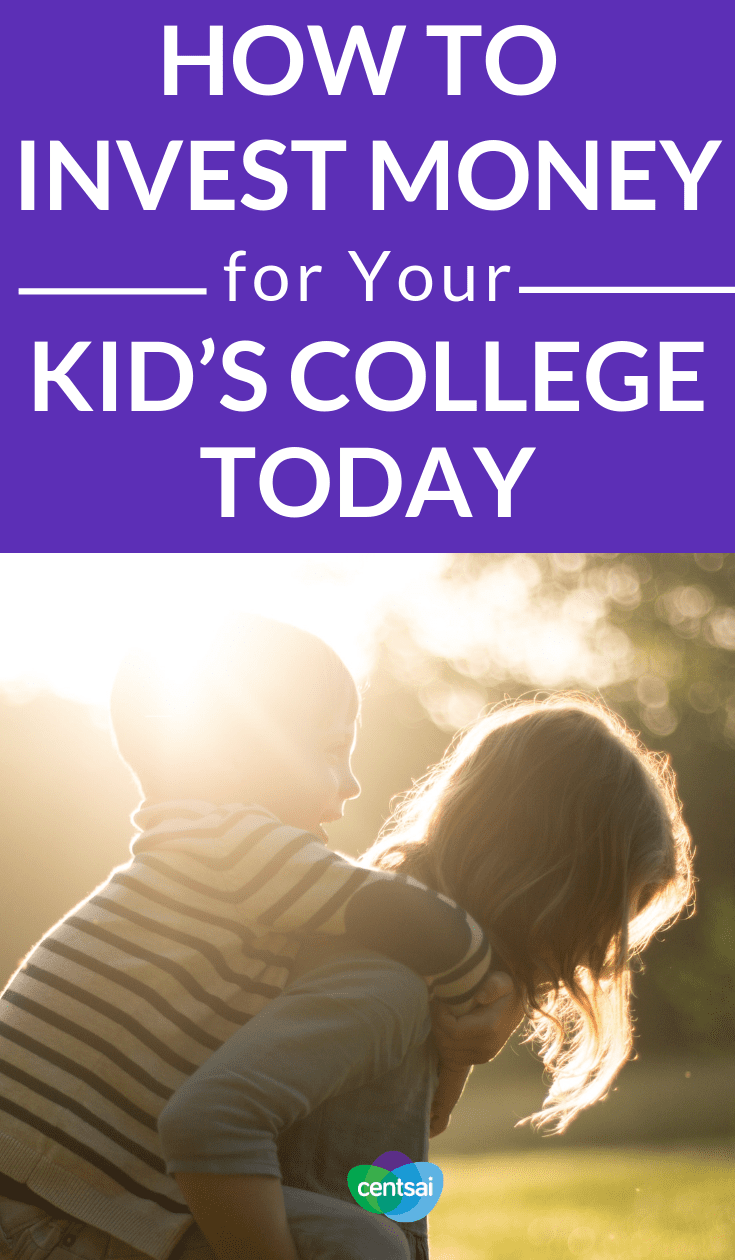 How to Invest Money for Your Kid's College Today. Why Not Saving For College Can Ruin Your Life. College is crazy expensive, so the sooner you start saving, the better. Learn how to invest money for college today to maximize your returns. #college #investment #education #millennials