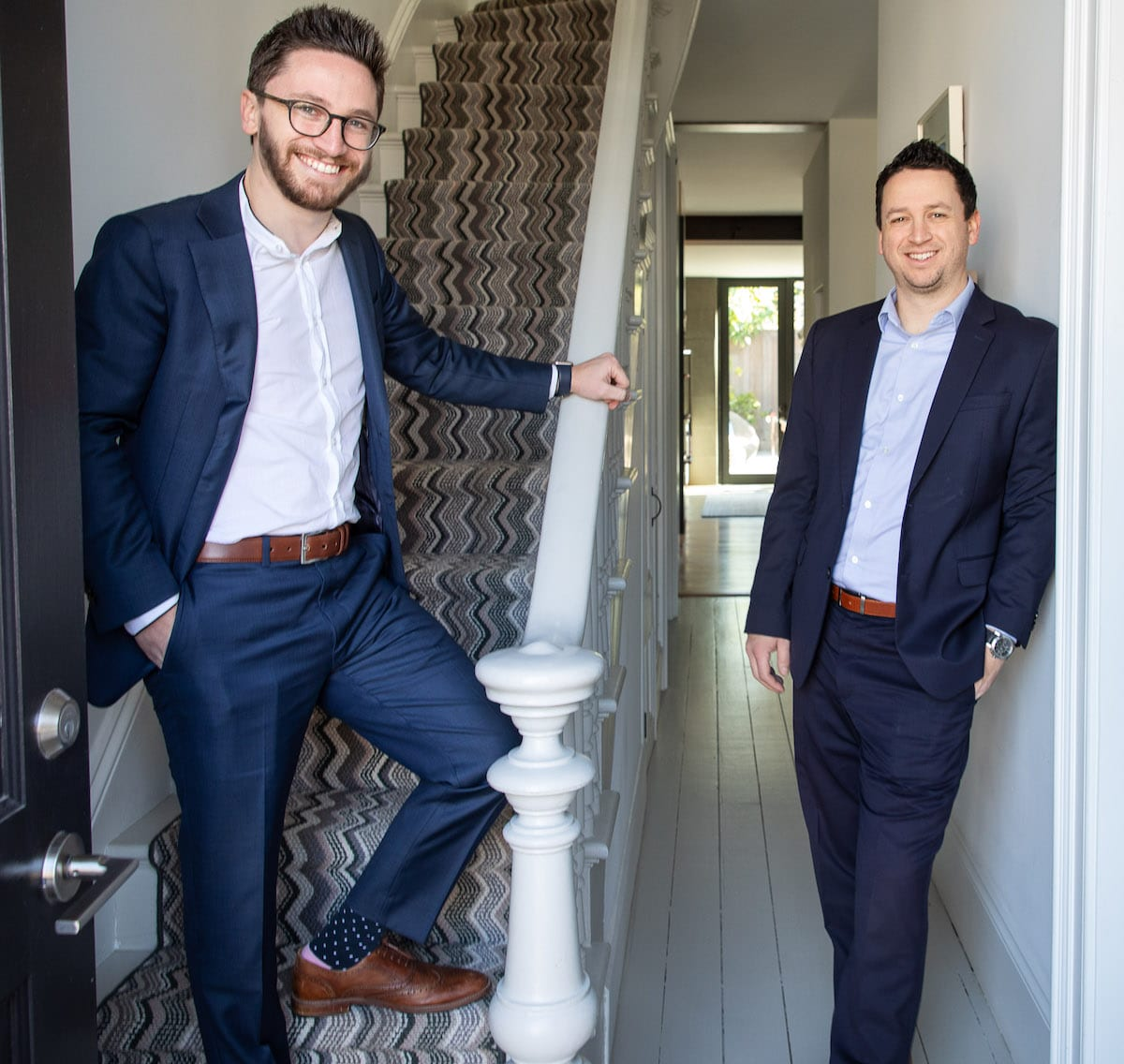 Working Together: Siblings Talk Business on National Siblings Day | Michael (left) and Aaron Bellings | Working with siblings