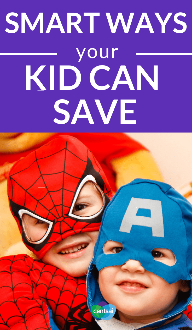 #SmartWays Your Kid Can Save. Rhonda Paul Ashburn of the American Financial Services Association Education Foundation gives tips for teaching kids about money. #savingtips #savingmoneytips #savingmoney #savingsplan #savingmoneychallenge