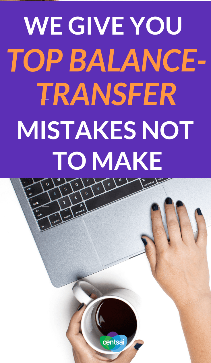 We Give You Top Balance-Transfer Mistakes Not to Make. Is a balance transfer a good idea? One educator figured out the hard way. Check out what she learned from her #financialmistakes #financialliteracy #financialplanning #personalfinance #personalfinancetips