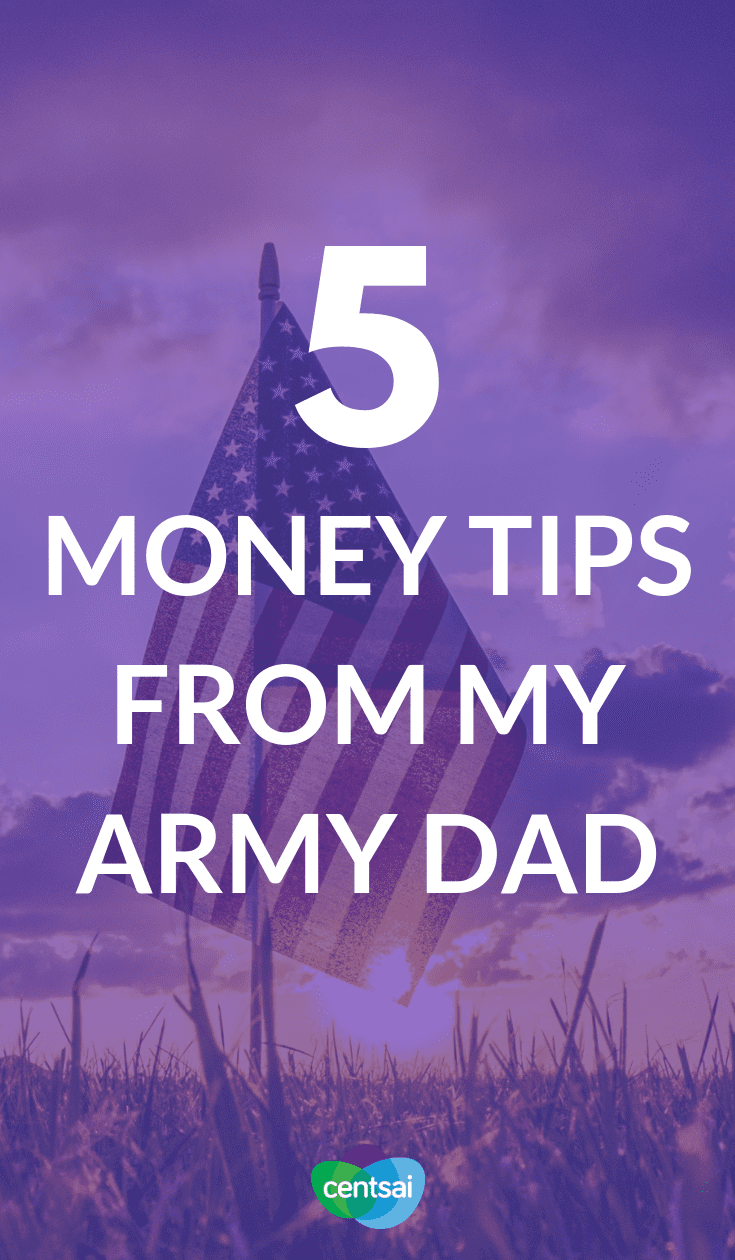 My Army father taught me a lot about life and managing money. Check out this money tip that he learned in the military — you might learn something, too.  #savingmoneytips #moneybudgeting #smartmoneytips