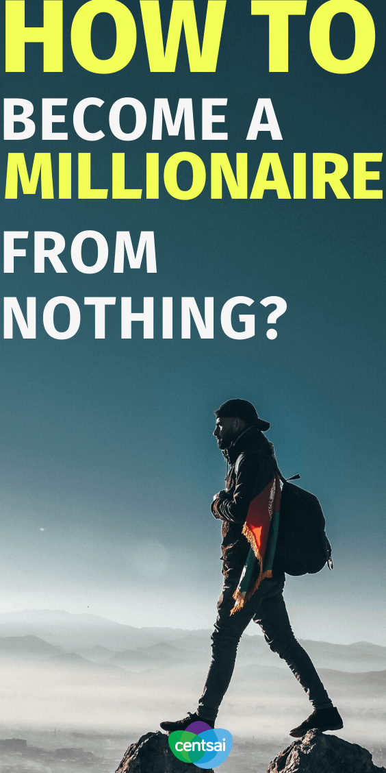 Making millions takes work, but it's doable. Learn how to become a millionaire from nothing with these millionaire recipes that can help you. #howtobecomeamillionaire #howtoberich #millionaire #frugalhacks #frugallifehacks #frugaltips #CentSai