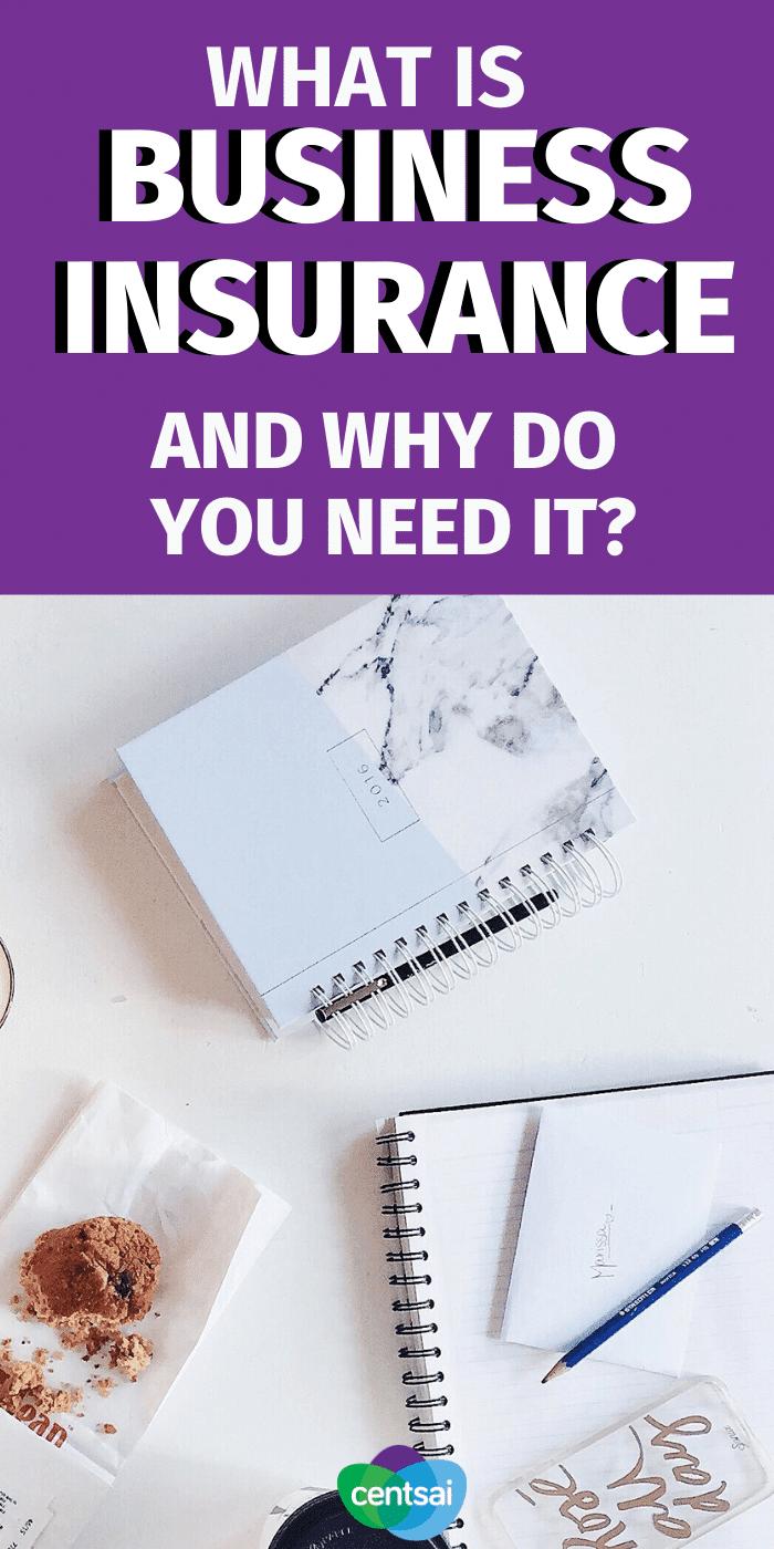 ¿Se pregunta si necesita un seguro para su pequeña empresa? Aprenda qué es un seguro comercial y por qué es importante. #CentSai #businessinsurance #pequeñas empresas #emprendedor #seguros