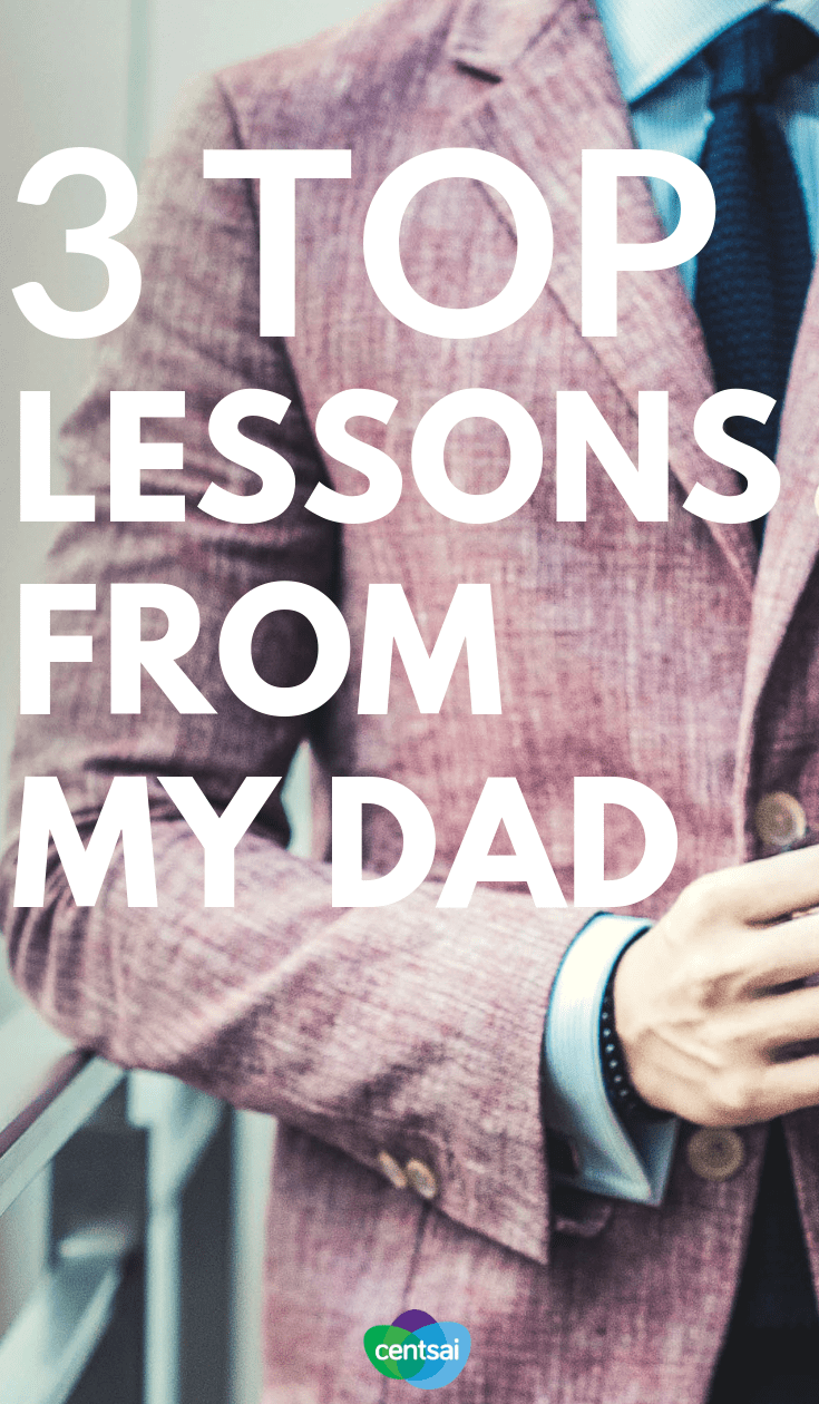 You can learn a lot by watching your parents run their own business. Check out these lessons from my dad and you might learn something, too. #FinancialLiteracy #financialfreedom #personalfinance