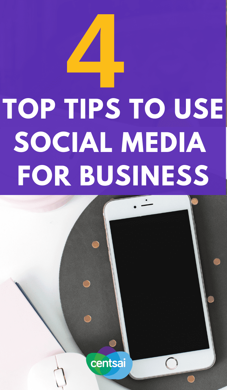 Not attracting as many customers as you'd like? Never fear. Get tips on using social media for business so you can promote yourself. #businesssmall #smallbusinesstips #smallbusinessmarketing