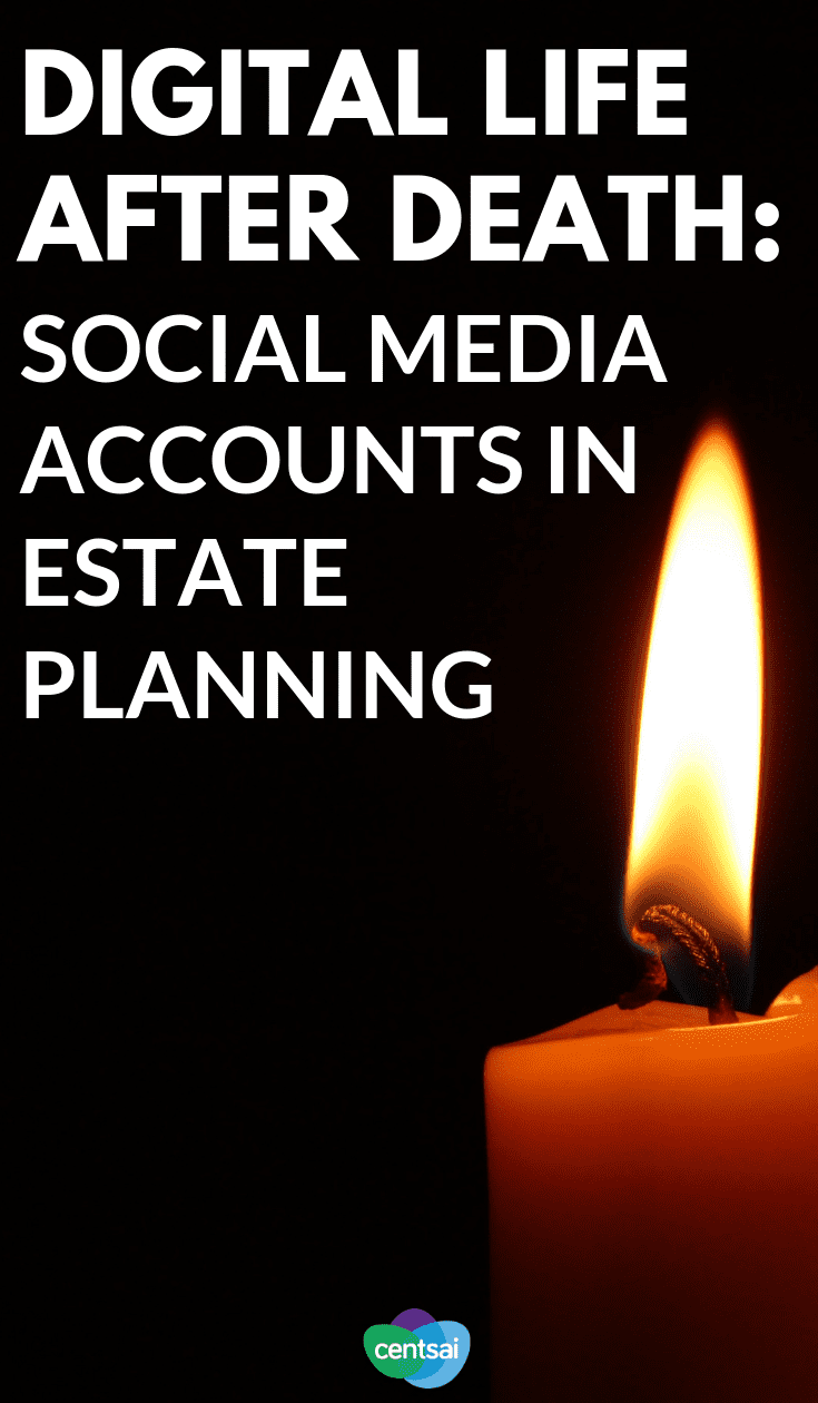 Have you ever thought about what happens to your #socialmediaaccounts after death? Learn how to deal with #digitalassets in estate planning.