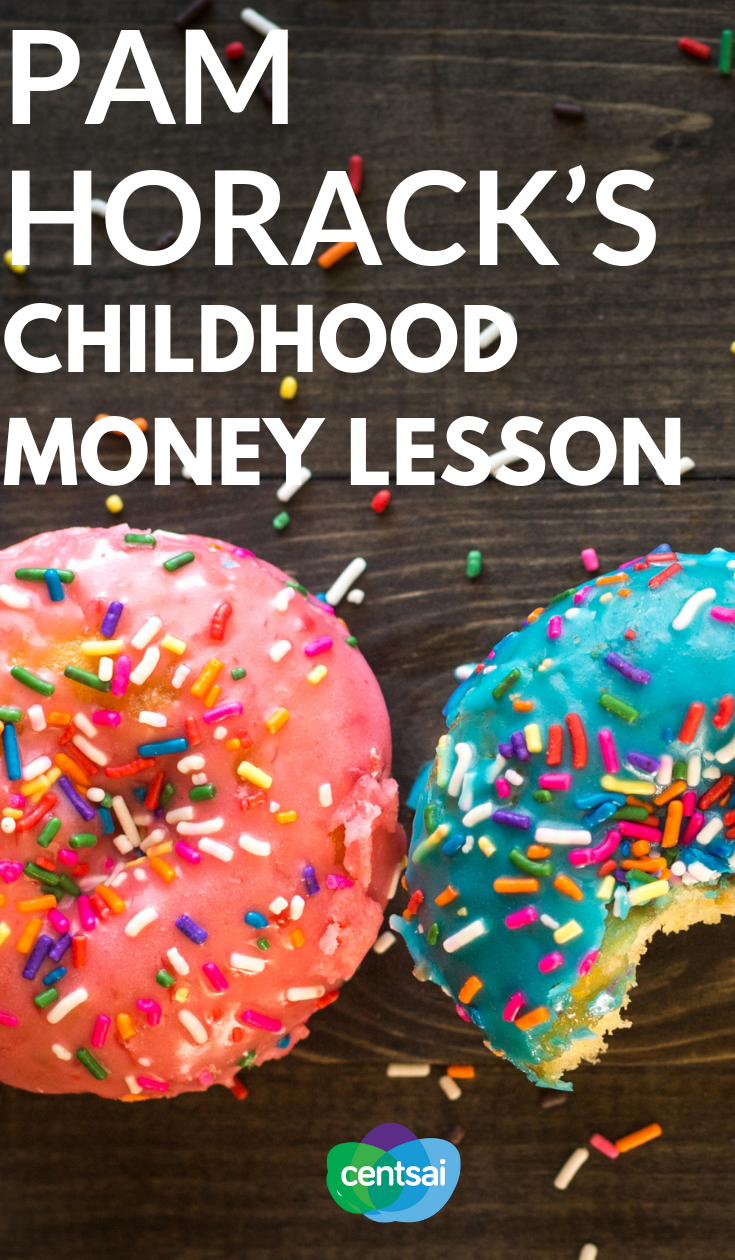 Financial expert Pam Horack shares some advice for teaching kids about smart money tips, as well as a money lesson and money budgeting she learned as a child. #managingmoney #howtomakeextramoney #extraincomeideas #waystomakemoney #moneytip