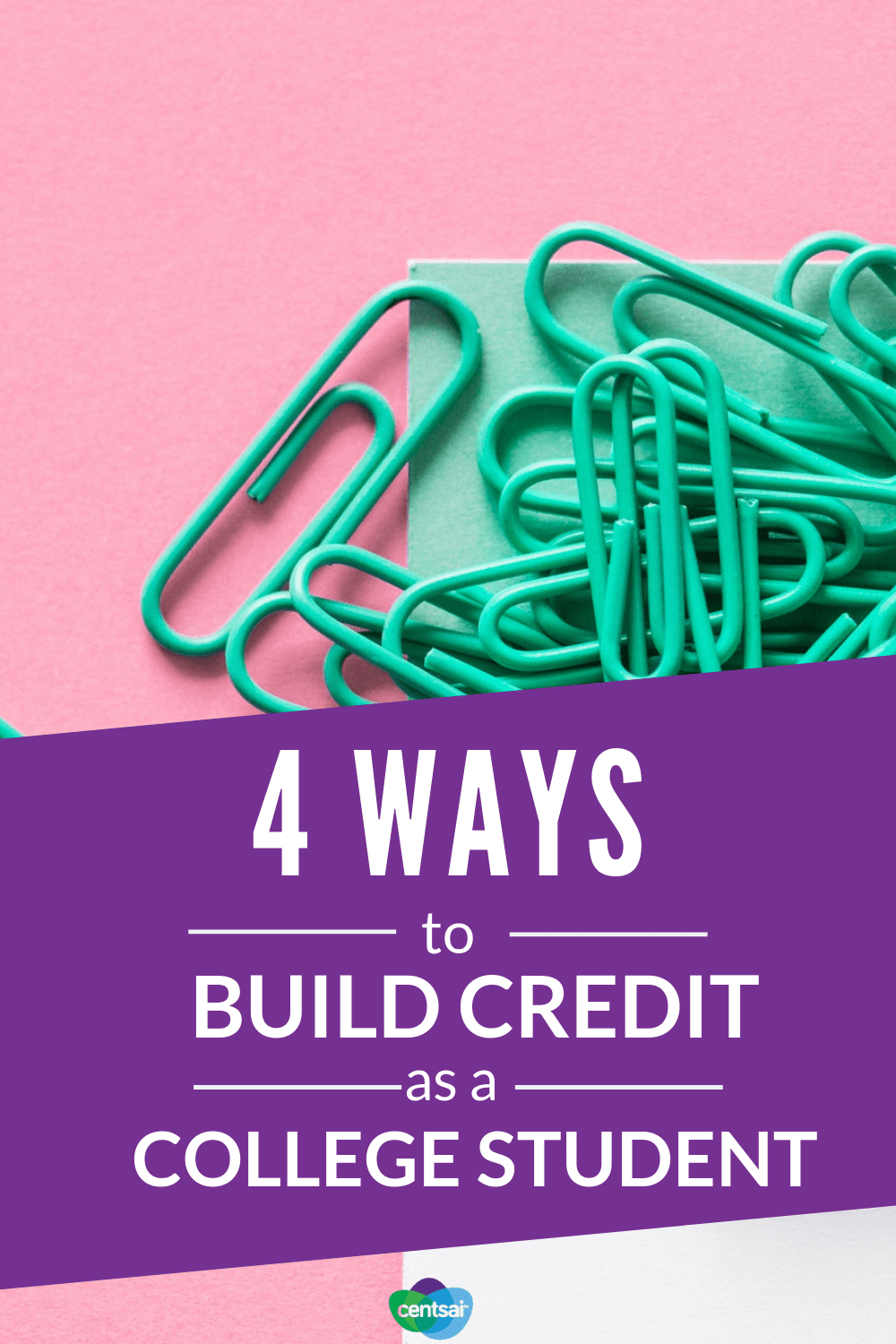 4 Ways to #BuildCredit as a College Student. Getting an apartment or car loan often requires a #creditscore. Check out these tips on how to improve and build credit as a college student. #raise #hacks