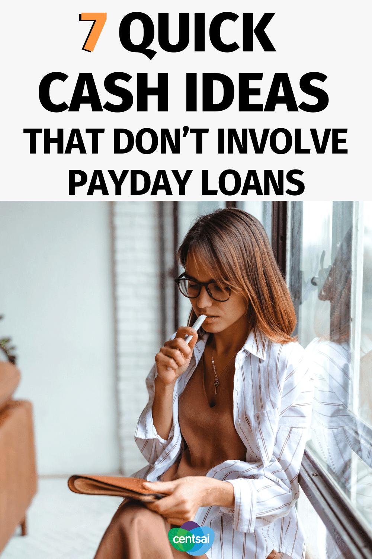 7 ideas de efectivo rápido que no involucran préstamos de día de pago