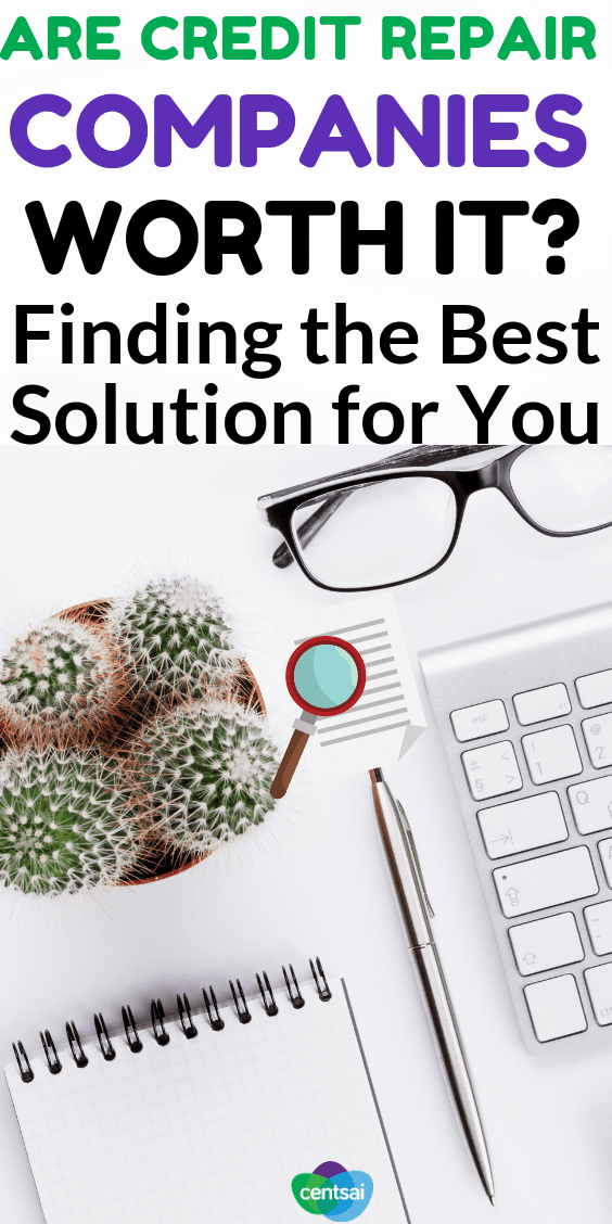 Are #CreditRepair Companies Worth It? Finding the Best Solution for You. So your #creditscore is in the dumps. Should you try some DIY, or are credit repair companies worth it? Figure out what's best for you.