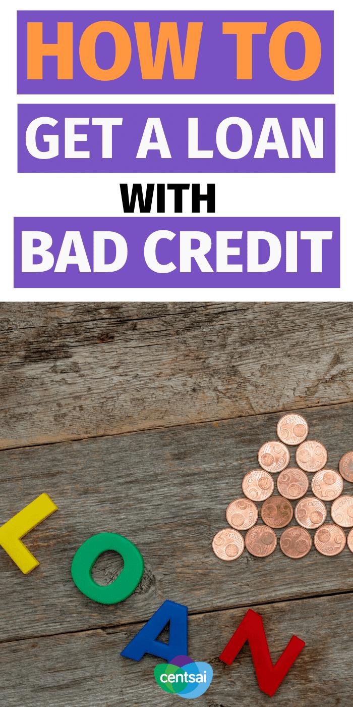 Entonces necesita pedir dinero prestado, pero su crédito apesta. Consulte estos consejos sobre cómo obtener un préstamo con mal crédito con una oferta razonable. #CentSai #improvecreditscore #creditscore #bettercreditscore #buildcreditscore