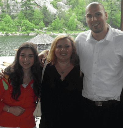 Deaf and Looking for Jobs? Here's What You Need to Know - Emily Frenkel at her brother's graduation