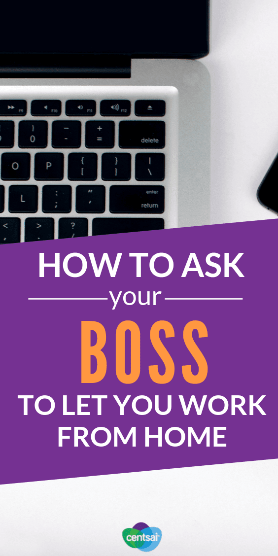 Do you want to work remotely? It could be a good idea for both you and your employer. Learn how to ask your boss to let you work from home. #jobs #tips #workfromhome #freelancer