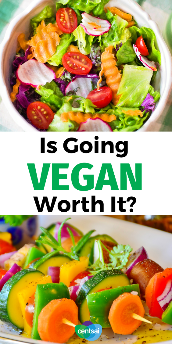 Is going vegan worth it? Could a vegan diet actually be cheaper? Maybe even healthier? Here's an awesome, beginner-friendly guide with helpful tips to help you transition smoothly into this lifestyle. Check out the benefits and side effects before deciding. #CentSai #benefits #tips #benefitsof