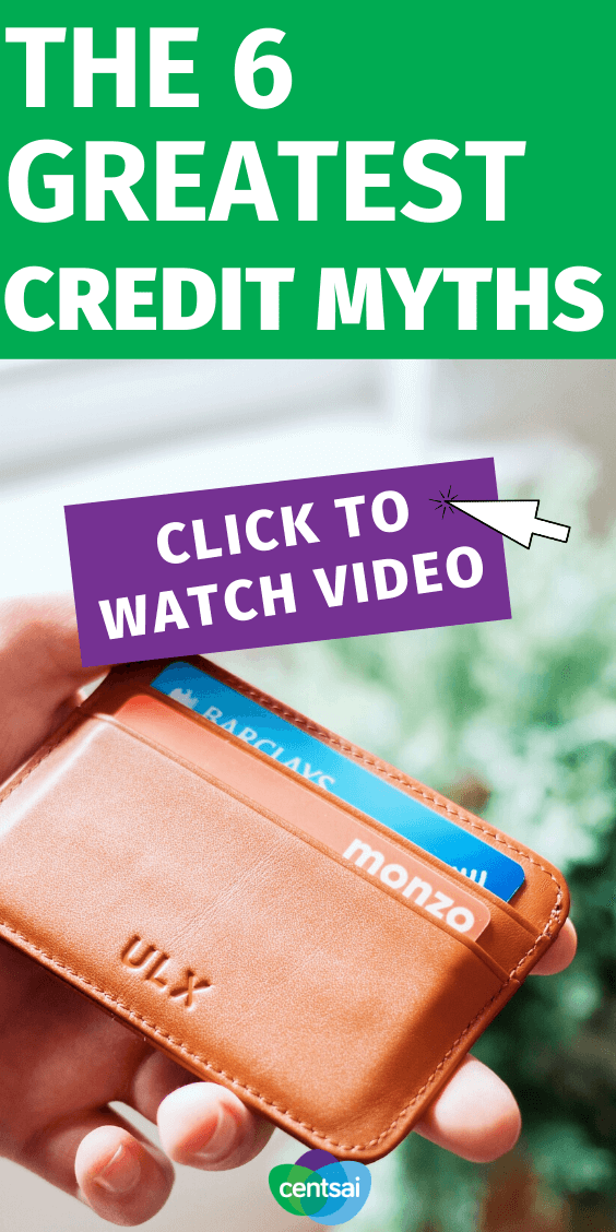 There is a lot of misinformation when it comes to credit. Let this video help you to debunk the top myths surrounding credit. #creditcard #CentSai #hacks #myths #debt