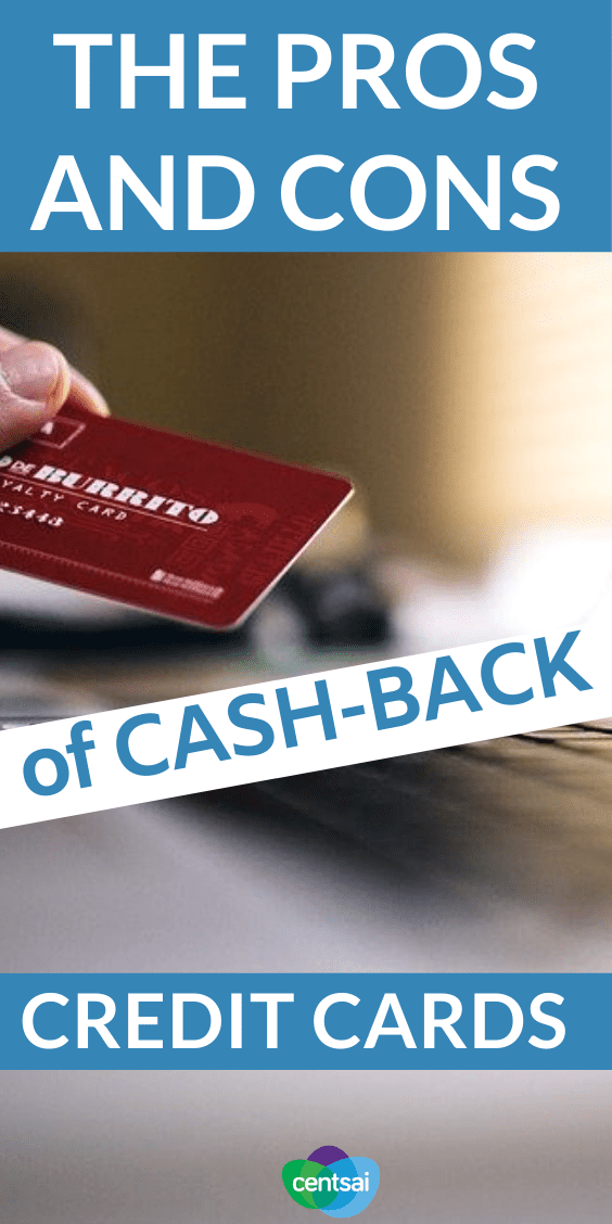 There are tons of benefits of cash-back cards, but don't fall prey to their traps. Check out these hacks and learn the pros and cons of cash-back credit cards today. #CentSai #tips #debt #hacks #creditcard