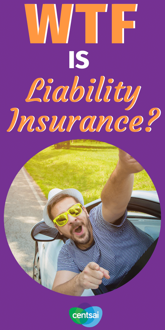 Insurance means peace of mind. What is liability insurance, and how does it work? If you have a car, home, or business, you probably need it. Learn before it's too late. #CentSai #liabilityinsurance #insurance #liabilityinsurancebusiness #insurance