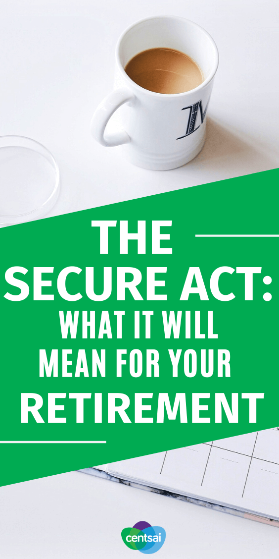 Are your retirement savings looking a little low? Watch our short video to find out how the SECURE Act could help with that. #CentSai #SecureAct ##retirement #SecureActRetirement