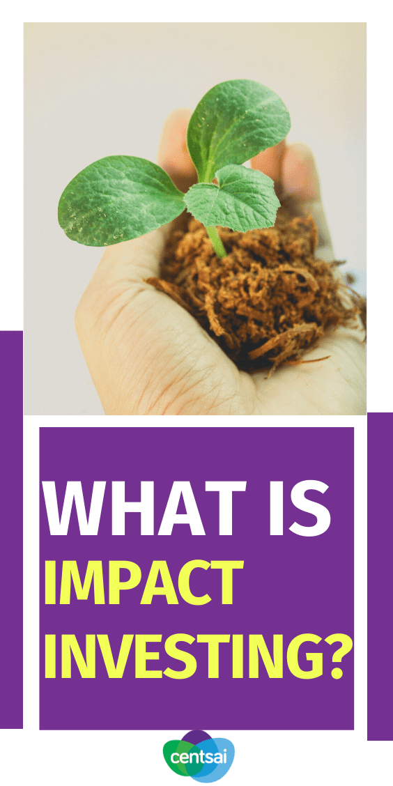 What is impact investing? Look at examples and learn how you can do good and make money at the same time with this how-to guide. #CentSai #ImpactInvesting #Investment #Investing #investmentideas