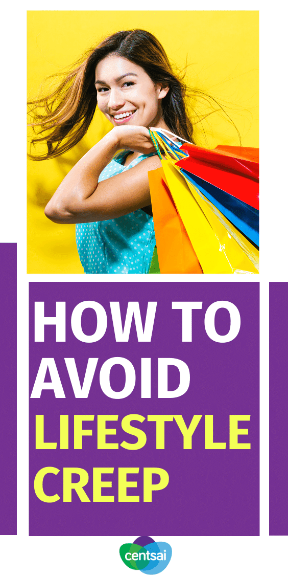 It's easy to feel pressured into a lifestyle that you can't afford. Learn the pitfalls of lifestyle creep and how to reach financial freedom. Start budgeting, learn frugal living, and save money. #CentSai #budgetingtips #frugaltips #savingmoney #frugallivingtips