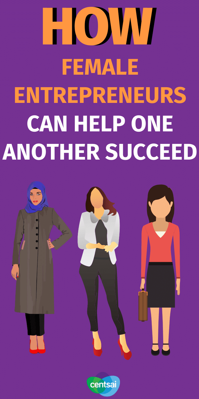 Going it alone might not be the best plan. Check out these tips for female entrepreneurs and see how working together can help you succeed. #CentSai #women #femaleentrepeneurs #entrepeneurs #entrepeneurship