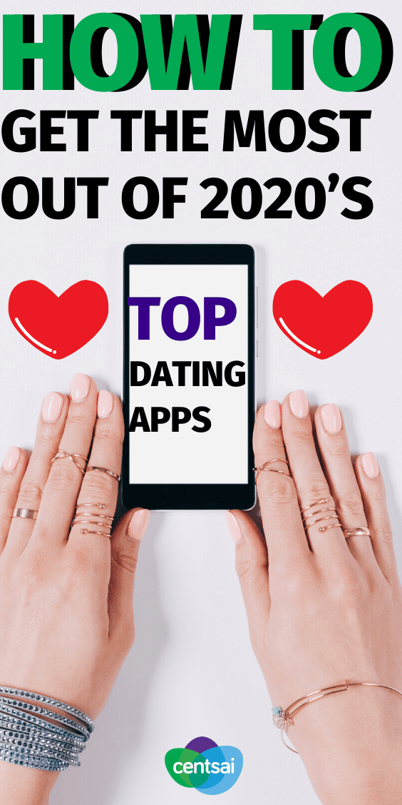 Looking for love online? Take a look at 2020's top dating apps to find out which are worth your time, as well as your money. #CentSai #datingapps #datingappstips #2020 #relationship