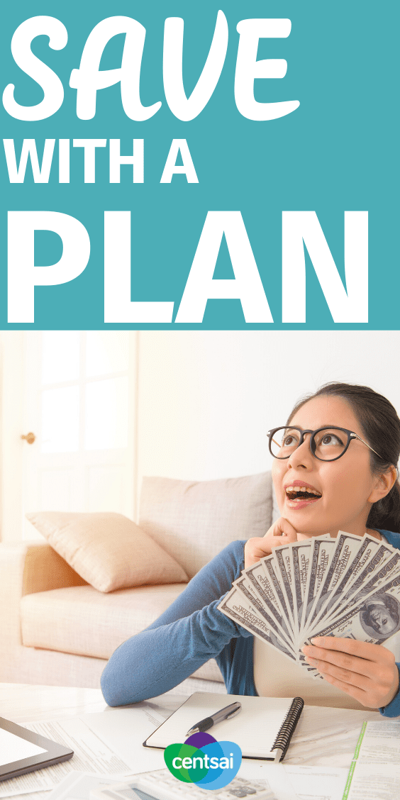 Following America Saves Week, we break down how to save with a plan, utilizing few common strategies to build good habits. Check out these some ideas that I shared and heard from others about the benefits of planned saving and how to do it. #CentSai #savingmoneytips #moneybudgeting #smartmoneytips #moneytip #managingmoney