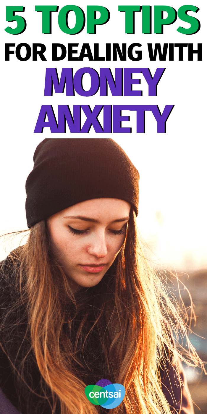 Struggling to overcome your financial fears? Check out these tips for dealing with money anxiety from somebody who's been there. #CentSai #moneymanagement #personalfinance #financialfears #moneytips
