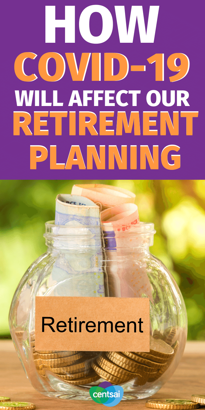 Worried how this pandemic will affect your retirement planning? Follow these four steps to help ensure you and your account come out on top. #CentSai #financialplanning #retirementplanning #retirement #retirementplans
