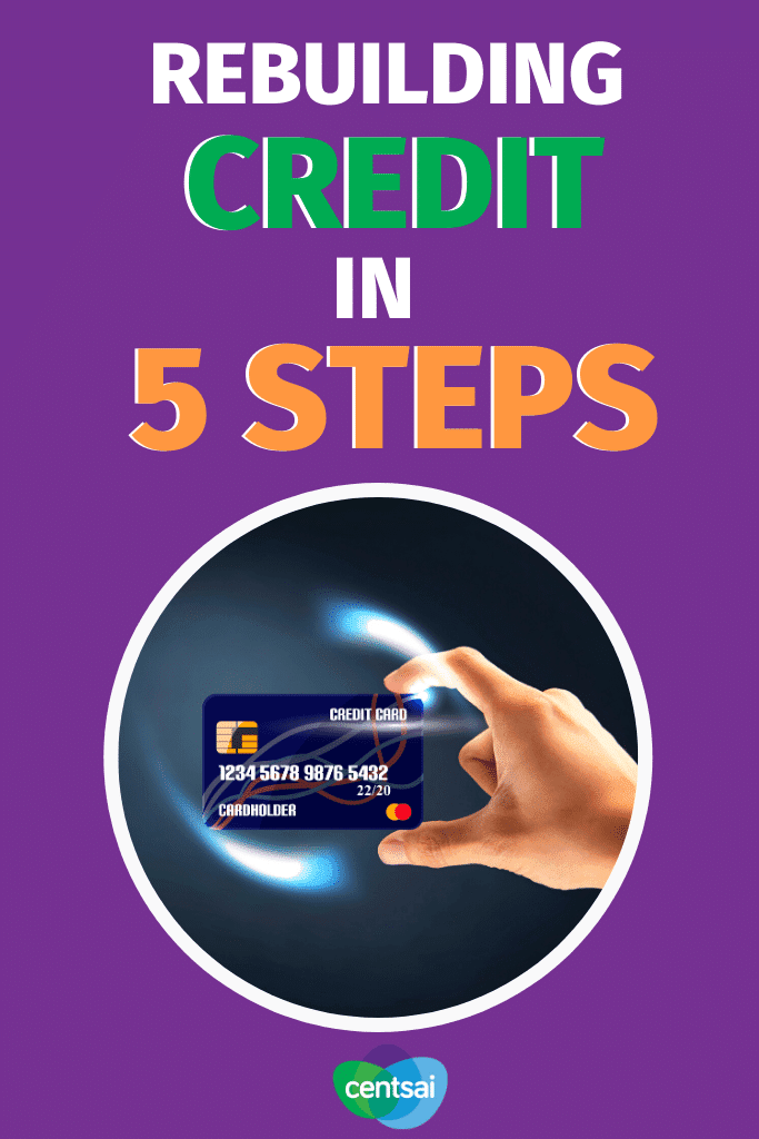 Rebuilding credit after a financial downturn can be difficult. With time and the right strategy, you can steadily increase your score. #CentSai #creditcard #creditscore #creditcarddebtpayoff