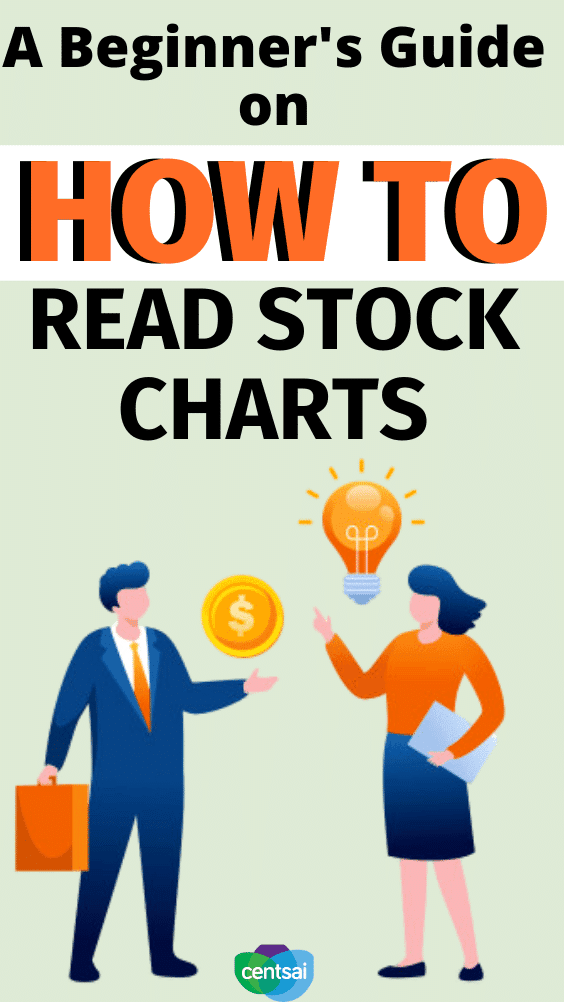 A Beginner's Guide on How to Read Stock Charts. Do you want to start investing, but feel lost on how to read stock charts? We've got you covered. Check out this comprehensive guide. #CentSai #investng #investingforbeginners #investment